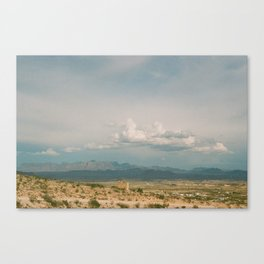 Rollin' In Canvas Print