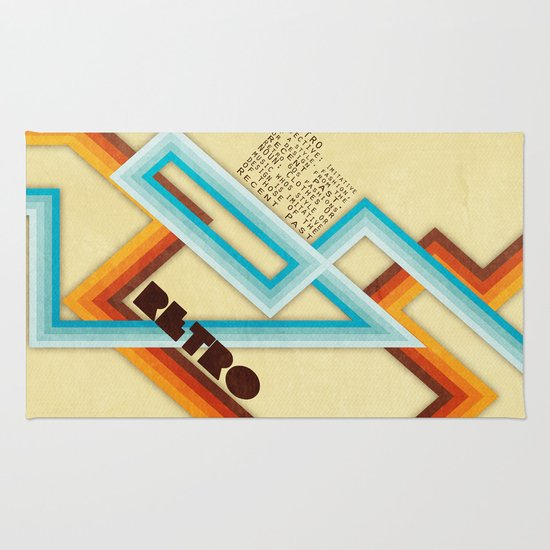 Retro Meaning Rug