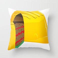 Good and sweet job Throw Pillow