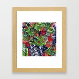mixture of nature Framed Art Print