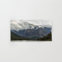 Clouds Over Mt Gould Hand & Bath Towel