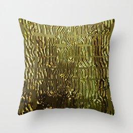 Pillow #15 GOLD Throw Pillow