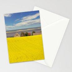 Bright Canola Stationery Cards