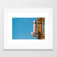 the 100 Framed Art Prints featuring 100 by SundaySky