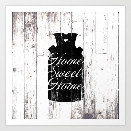 Home Sweet Home Rustic Jug by christyne