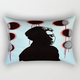 Blood Moons Rectangular Pillow