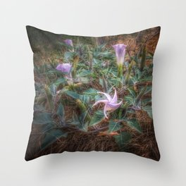 Late Bloomers Throw Pillow