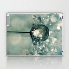Sea Grey Drop Laptop & iPad Skin