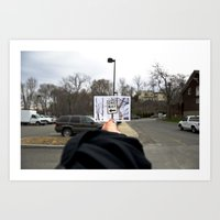 Picture Picture Sign Art Print