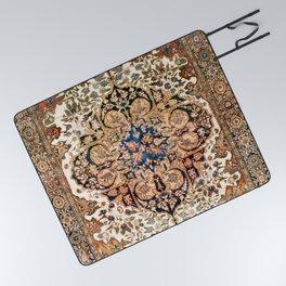 Ferahan Arak  Antique West Persian Rug Print Picnic Blanket