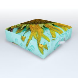 Flower Photography by Earl Richardson Outdoor Floor Cushion