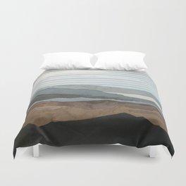Salton Sea Landscape Duvet Cover