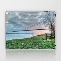Sunset at the Humber Bridge Laptop & iPad Skin