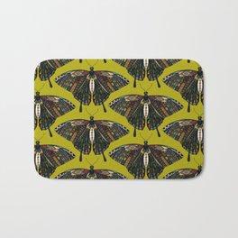 swallowtail butterfly citron Bath Mat