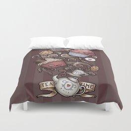 Morning Breakfast Coffee Duvet Cover