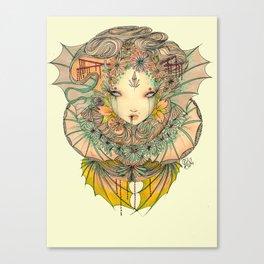 Lady dragon  Canvas Print
