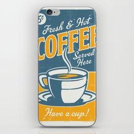Vintage poster- Coffee iPhone Skin