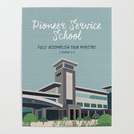 Pioneer Service School (Warwick, Bethel) Poster