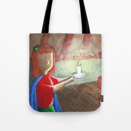 Jess goes into the attic Tote Bag