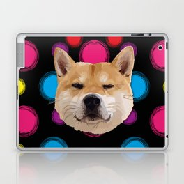 Hachiko Dog Laptop & iPad Skin
