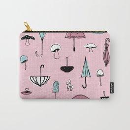 Mushroom Umbrella Carry-All Pouch