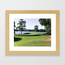 11 Fairway Framed Art Print