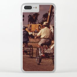 Tricycle Club Clear iPhone Case