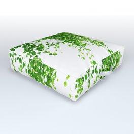 Green Leaves Delight #1 #tropical #decor #art #society6 Outdoor Floor Cushion