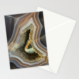 Patterns of agate gem Stationery Cards