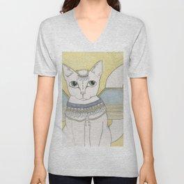 Blanka Cat Fairy Unisex V-Neck