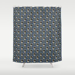 Rabbit - French Duke Shower Curtain