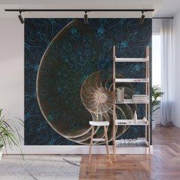 sacred geometry-shell mandala-nature-healing-energy-quantum Wall Mural