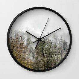 Winter Spell Wall Clock