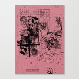 misprint 112 Canvas Print