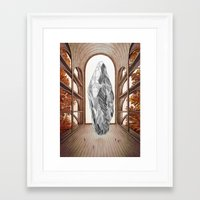 lighthouse Framed Art Prints featuring Lighthouse by Isabel Seliger