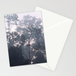 The mysteries of the morning mist Stationery Cards