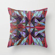 RETRO KALEIDOSCOPE //TWO Throw Pillow