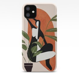 Abstract Female Figure 20 iPhone Case