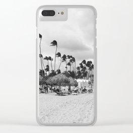 Dominican Republic Clear iPhone Case