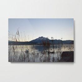 Luzern - Pilatus Metal Print