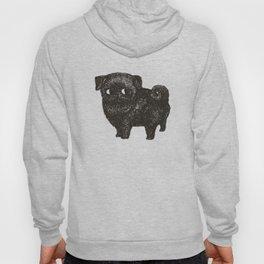 Black Pug Hoody