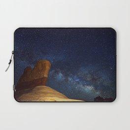 Milky Way Arching Over Hoodoo In Utah Laptop Sleeve