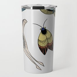 Moths Travel Mug