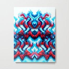 THRILLSEEKER Metal Print