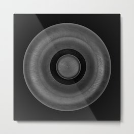 Demi-Stock Black Piece 2 Metal Print