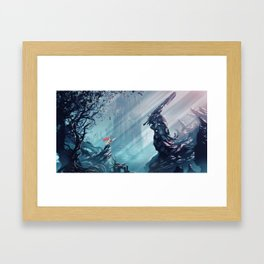 child of berserk Framed Art Print
