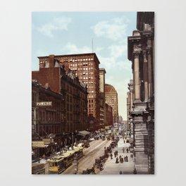 Randolph Street Canvas Print