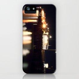 Night Light Harford Pier Port San Luis Avila Beach iPhone Case
