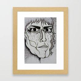 Visage 7 Framed Art Print