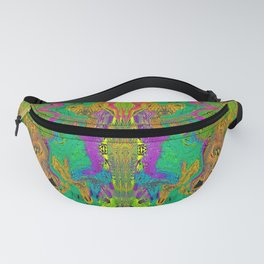 Twisted Bug Face (Light) (Psychedelic) Fanny Pack